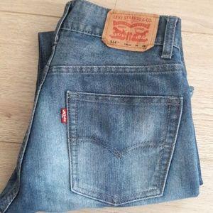 LEVI'S 514 Jeans  Boy's 16 Slim Straight